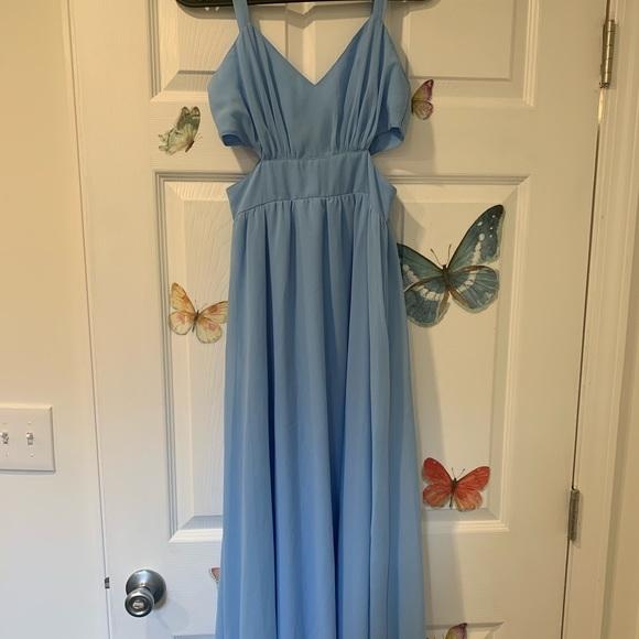 ASOS Petite Dresses & Skirts - ASOS side cutout maxi dress